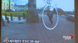 RCMP release new video from the Ottawa shooting