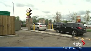 Alberta driver responds after getting $287 ticket for texting in Tim Hortons drive-thru