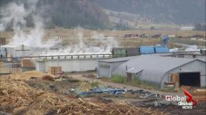 Impending closure of Tolko mill in Merritt