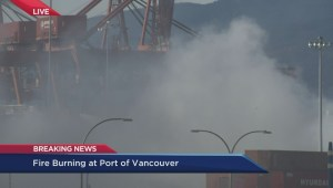 Dangers of exposure to Vancouver Port chemical fire
