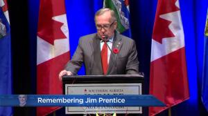 Remembering Jim Prentice: Richard Haskayne speaks about his neighbour Jim Prentice