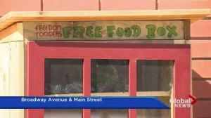 Free food boxes feed hungry people in Saskatoon