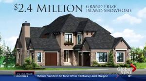 Foothills Hospital Home Lottery 2016: showhome on Mahogany Island