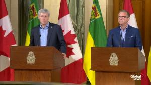 Prime Minister Harper addresses economic slowdown as fall election looms