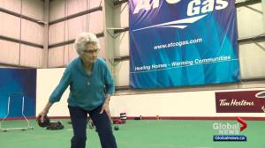 Edmonton lawn bowler still rolling at 93