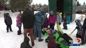 Wintertime Green Shacks bring back organized play to Edmonton parks