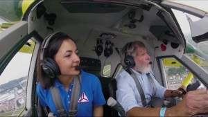 16-year-old girl wins national contest to go flying with Harrison Ford