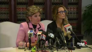 Attorney Gloria Allred says the Access Hollywood video, presidential debates fueled her client to come forward