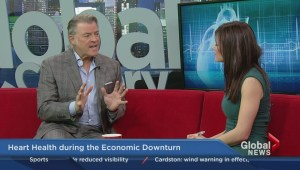 Economy's impact on Heart Health; Dr. Stephen Valentine, Mayfair Diagnostics