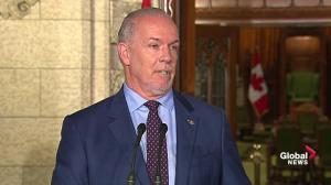 Horgan eager to get softwood deal before NAFTA negotiations begin