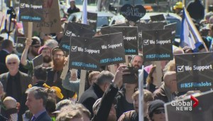 Film and TV workers protest in Halifax