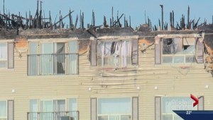 Residents displaced by condo fire