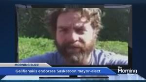 Zach Galifianakis endorses candidate in Saskatoon mayoral race