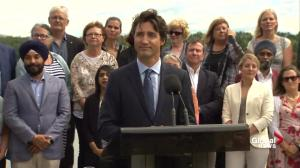 Gord Downie's 'encouragement in me was extremely touching': Trudeau
