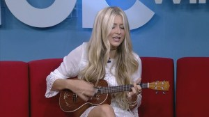 Canadian country singer / songwriter Madeline Merlo performs on Global Winnipeg