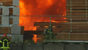 Abbotsford Mill Fire now under control