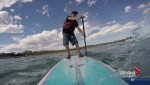 Stand up paddleboarding's popularity grows in Alberta