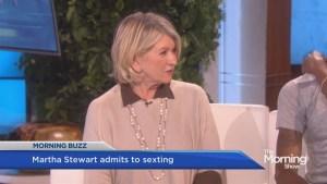 Martha Stewart makes surprising admission on the Ellen show
