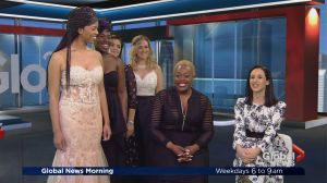 Plus-size prom dresses and evening wear trends