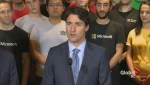 PM on hand for opening of new Microsoft facility in downtown Vancouver