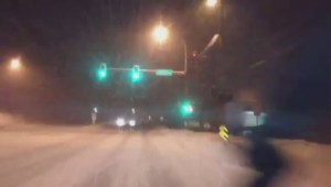 Raw: Driving along Highway 7