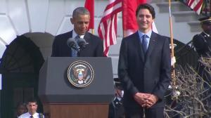 US President Barack Obama hails close friendship with Canada