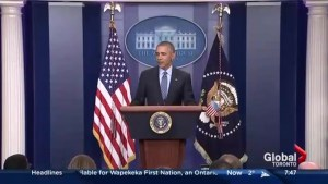 Barack Obama gives final press conference as president