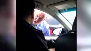 NYPD officer's road rage tirade caught on camera