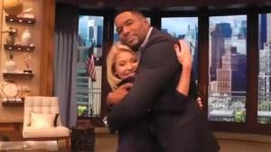 'You changed my life': Michael Strahan bids fond farewell to co-host Kelly Ripa