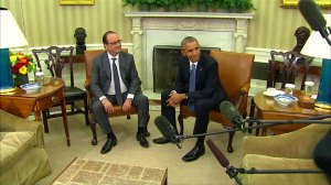 French president hoping for US to take a bigger role in fight against ISIS