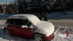 Calgary snow route parking ban: over 1400 tickets issued on Day 1