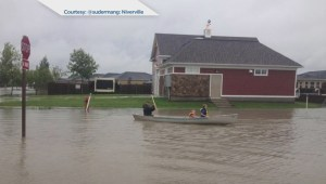 Intense storm causes flash flooding in Southern Manitoba