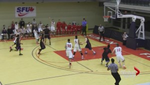 SFU basketball team trying a new tactic