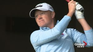 Golfer Stacy Lewis looking forward to Olympics and more importantly Canadian open