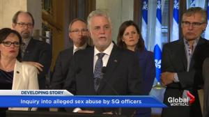Quebec announces Val-d'Or public inquiry