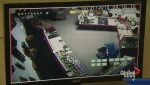 Thief uses truck to tear off door of warehouse in smash and grab
