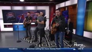 "The River Town Saints perform ""Bonfire"" on The Morning Show"