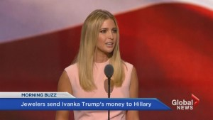 Ivanka Trump donates to Hillary Clinton campaign…kind of