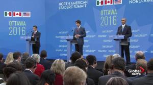 "Mexican president praises Trudeau, says he's ""making Canada stand out in the world"""
