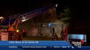 Rundle fire damages two homes