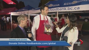 Results of Global BC's 'Thanks For Giving' Food Drive revealed