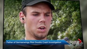 Father of Germanwings crash pilot tries to clear son's name
