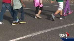 Slow down in school zones!