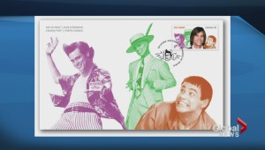 Carrey, Myers among comedians honoured with stamps