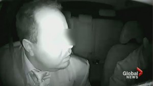 Passenger's racist attack on cab driver captured on camera