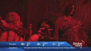 Haunted house draws visitors from all over