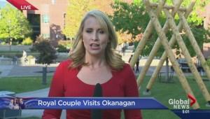 Royal Couple at UBC Okanagan