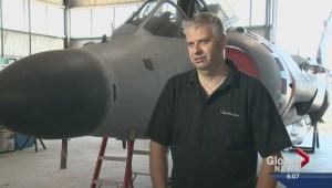 Red Deer man sells $1.5 million jet on Kijiji