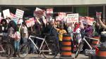 Ontario schools facing strike actions from students, parents and teachers