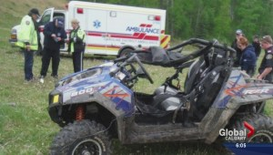Man killed, another injured in OHV rollover northwest of Sundre